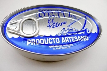Ortiz ventresca, the belly of the tuna.