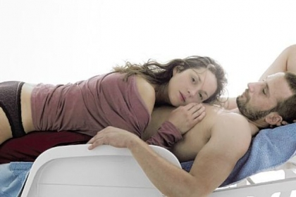 "Marion Cotillard and Matthias Schoenaerts are a powerful pair in ""Rust and Bone."""