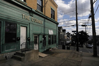 The Corner, on Robinson Street at Terrace Street, serves as a community center run by the West Oakland Neighborhood Council and Friendship Community Presbyterian Church.