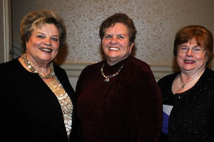 Judith Bannon, Bonnie DiCarlo and JoAnn Forrester.