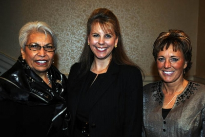 Linda Johnson-Wasler, Elizabeth Terrell, and Teresa Conn.
