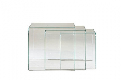 Claro nesting tables by Mitchell Gold   Bob Williams available at Weisshouse.