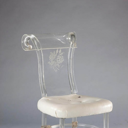 One of the first Lucite Chairs by Rohm & Haas.