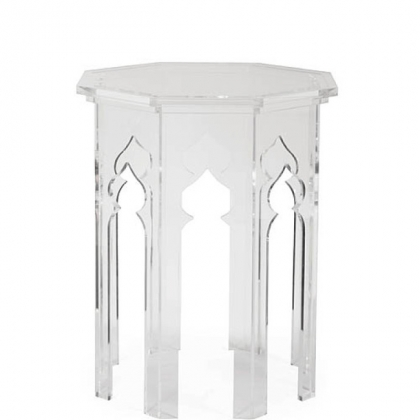 Moroccan Side table from Bernhardt Interiors line.