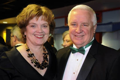 Susan Manbeck Corbett and Gov. Tom Corbett.