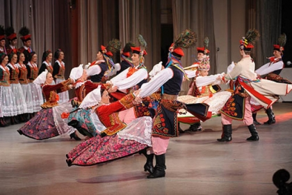 The Polish National Song and Dance Ensemble.