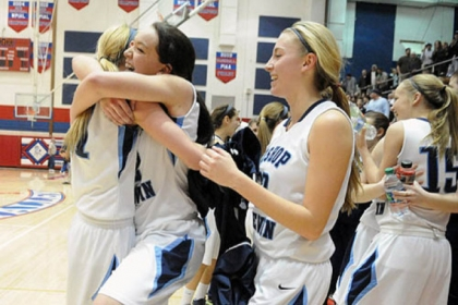 Bishop Canevin celebrates after beating Seton-LaSalle for the second time this postseason and reaching the PIAA Class AA final.