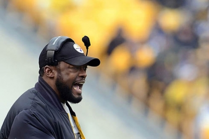 Steelers coach Mike Tomlin doesn't want to talk about the team's March roster defections.