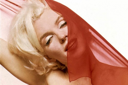 "Marilyn Monroe as photographed by Bert Stern, the subject of ""Bert Stern: Original Mad Man."""