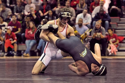Shady Side Academy grad Geoff Alexander had a solid season wrestling for Maryland.