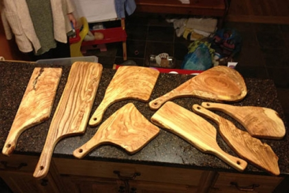 Pittsburgh-made cutting boards by Chris Bandy.