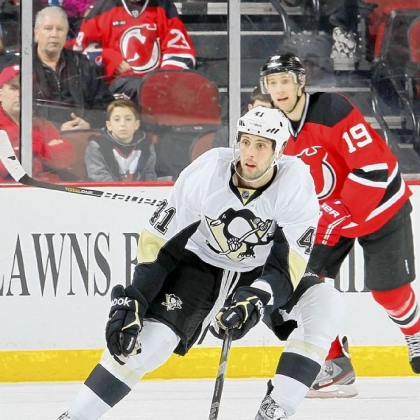 Robert Bortuzzo is caught in a numbers game on the blue line for the Penguins -- and the team knows there no chance he would clear waivers -- so the young defenseman has been little more than a spectator during the current 10-game winning streak.