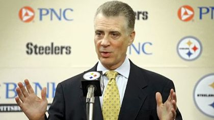 Art Rooney II at a 2011 press conference.