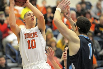 Beaver Falls' Drew Cook is the Tigers second-leading scorer with 15.7 points per game. The Tigers are playing in a second consecutive PIAA Class AA title game.