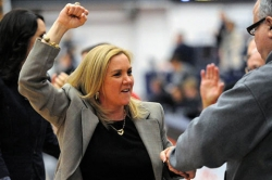 Abel revives Dukes in 71-66 win over Akron in Women's NIT