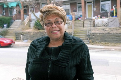 Phyllis Jackson was named Volunteer of the Year at the Bob Awards, an annual event of the Clean Pittsburgh Commission.