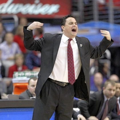 Arizona head coach Sean Miller, a former Pitt great, says current Panthers coach Jamie Dixon is the right man for the job.