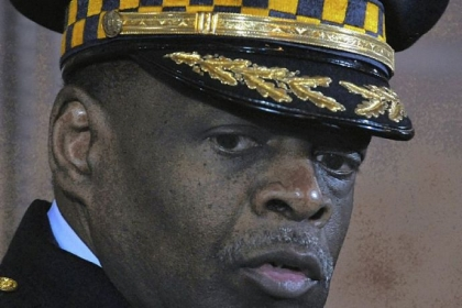 Then-Pittsburgh Police Chief Nate Harper at City Council's chambers in March 2010.