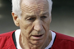 Filmmaker claims Sandusky interview exonerates Paterno