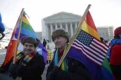 Supreme Court hears gay marriage case arguments