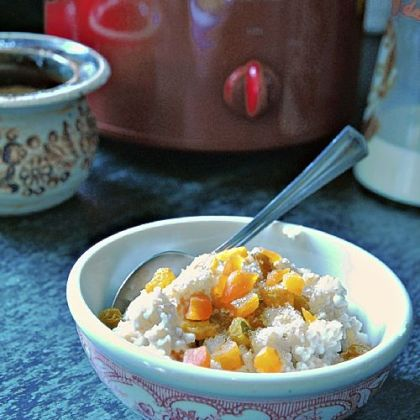 Slow-cooked Irish Oatmeal