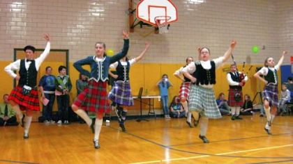 Scottish and Irish dance groups have been featured at past International Nights at Jefferson Middle School.