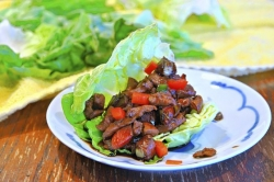 What's for Dinner: Asian Chicken Lettuce Wraps