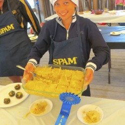 Carly Terensky is the SPAM Kid Chef of the Year