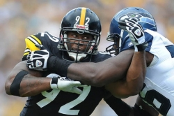 Former Steelers linebacker Harrison misses on Ravens chance