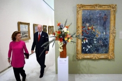 Art in Bloom combines flowers and fine art