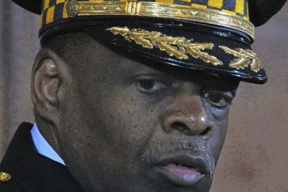 Then-Pittsburgh Police Chief Nate Harper at Pittsburgh City Council's chambers in March 2010.