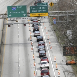 Motorists are able to ride out Squirrel Hill Tunnel closure